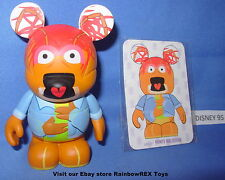 "DISNEY VINYLMATION 3"" THE MUPPETS PEPE THE PRAWN SERIES 2 With CARD"