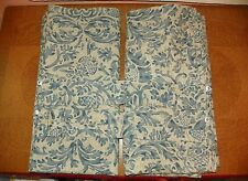 RALPH LAUREN DONOVAN DAMASK LINED DRAPES CURTAINS- 3 PAIRS AVAILABLE-ELEGANT