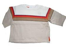Mexx tolles Sweatshirt Gr. 62 beige-weiß-rot !!