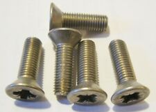 """5/16"""" UNF by 1"""" Pozi Countersunk Machine Screws - Stainless Steel"""
