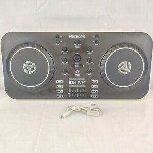 Numark iDJ live II Digital DJ Controller iDJLIVEII 2 + USB TESTED