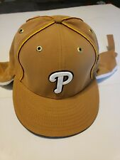 Winter Suede New Era Phillies Fitted Hat sz 7¼