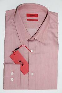 HUGO BOSS Business-Hemd, Mod. Kemp, Gr. 40 / US 15.7 Slim Fit, Open Red