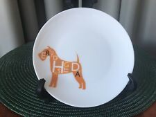 "ROYAL DOULTON Dog Days Plate #1815 ""EVERY DOG HAS ITS DAY"" England 6"""