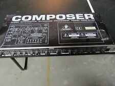 Behringer Composer Audio Interactive Dynamics Processor Model MDX 2100 No Cord