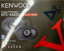 "Kenwood Excelon KFC-X683C Custom Fit 180 Watts 2-Way 6""x8"" Car Speakers"