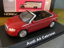1/43 Norev Audi A4 Cabriolet rot 830005