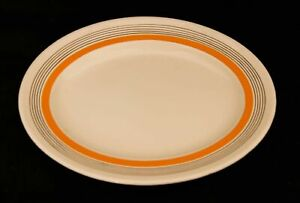 Royal Doulton Marquis Band Pattern Meat Serving Plate 33 cm
