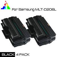 4 Pack Compatible MLT-D206L Black Toner Cartridge For Samsung SCX-5935FN 5935