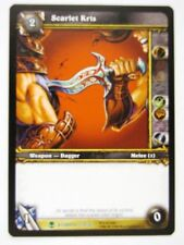 WoW: World of Warcraft Cards: SCARLET KRIS 333/361 - played