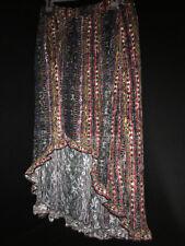 No Boundries Ladys Colorful Pattern Sun Dress Size XL (15-17) Light Stretch