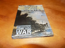 WEAPONS OF WAR BATTLE OF THE ATLANTIC WWII Warfare Ships Navy Combat DVD NEW