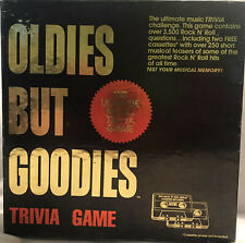 Oldies But Goodies Music Game Trivia 2 Cassettes and Booklets Complete Vintage