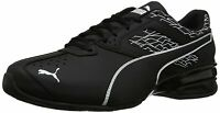 PUMA Mens Tazon 6 Fracture FM Low Top Lace Up Fashion Sneakers, Black, Size 11.5