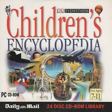 CHILDREN'S ENCYCLOPEDIA - CD-ROM