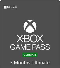 Xbox Game Pass Ultimate 3 Month Gold Membership Quick Delivery! *Single Code*