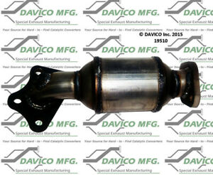 Catalytic Converter-Exact-Fit Front Right Davico Exc CA 19510