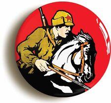 Soviet Red Army Cossack Badge Button Pin (1inch/25mm Diameter) Ww2 Communist
