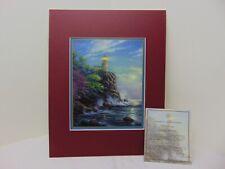 Thomas Kinkade Split Rock Light Limited Edition Lithograph 11x14 Coa