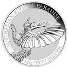 2018-P Australia 1 oz. Silver Bird of Paradise $1 Coin GEM BU SKU53596