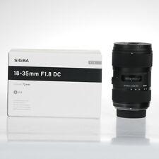 Obiektyw Sigma Art 18-35mm f/1.8 DC HSM  For Nikon Mount