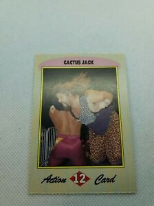 1993 WCW Trading Card Yearbook Cactus Jack Rookie #12 wwe RC