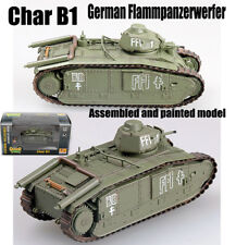 Easy Model German captured Char B1 Flammpanzerwerfer tank 1944 1:72 non diecast