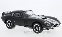 Shelby Cobra Daytona Coupe matt-schwarz/weiss 1965  1:18 Lucky DieCast   >>NEW<<