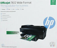 HP OfficeJet 7612 A3-Drucker Multifunktionsgerät Großformatdrucker (SGT510Z21)