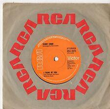"""Perry Como - I Think Of You 7"""" Single 1971"""
