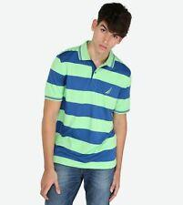 NAUTICA Short Sleeve Navtech Striped Polo Shirt ~ Small