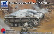 Bronco Models 1/35 StuG.III Ausf.C/D with 75mm StuK 37/L24 and 75mm StuK 40/L48