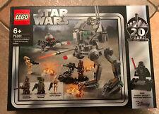 LEGO SET BOITE STAR WARS 75261 VAISSEAU 20 EME ANNIVERSAIRE CLONE SCOUT WALKER