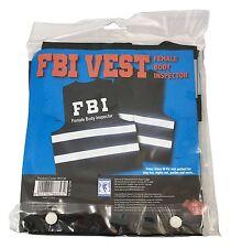 Inspector Hi Vis FBI cuerpo femenino Chaleco para hombre Stag Do Kinky Divertido Broma Fiesta Nuevo