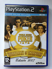 JEU VIDEO SONY PLAYSTATION 2 WORLD SERIES OF POKER 2007 // ED. SPAIN