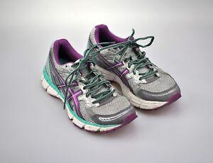 Asics Gel-Excite 2 Women's US 7.5 EUR 39 Running Shoes Gray Purple T483Q (D)