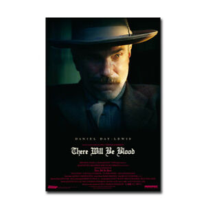 There Will Be Blood Movie Poster Print Fabric Wall Art Film Picture 24x36 inch