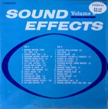 SOUND EFFECTS - VOLUME 9 - AUDIO FIDELITY LBL - STEREO LP - STILL IN SHRINK WRAP