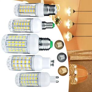 LED Corn Light Bulb E27 E14 B22 G9 220V 12V 24V 5730 SMD White Lamps RML209 UK