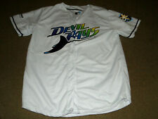 TAMPA BAY RAYS MLB DOUBLE SIDED JERSEY 20 YR ANNIVERSERY JERSEY ADULT LARGE
