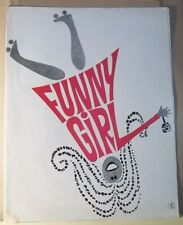 Funny Girl - Streisand Sharif - Scénario Synopsis Dossier de Presse - 4 Pages BE