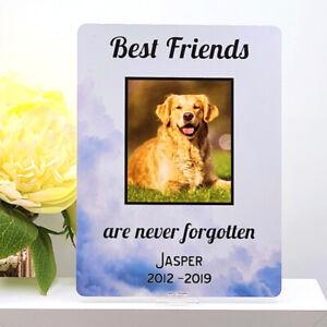 Personalised Pet Loss Memorial Photo Sign ANY IMAGE