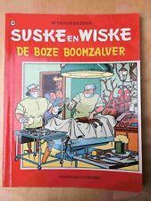 Suske en Wiske 139, De boze boomzalver, 1° druk