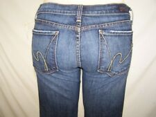 Citizens of Humanity 31 Womens Size Blue Kelly #063 Denim Cropped Capri Jeans