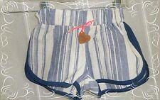 A - Short Ecru Marine Rayé Oxford  Baby Taille 2 ans  / 24 Mois Neuf
