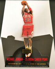 Michael Jordan Upper Deck Standee 25,000th Career Point