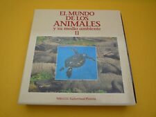 CAJA BOX 10 LASER DISC el mundo de los animales II Jacques Cousteau LIKE NEW ç
