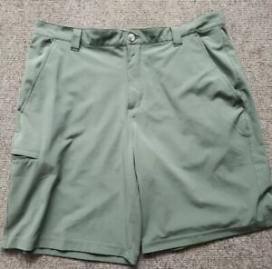 Columbia Men's Grander Marlin 2 Offshore Fishing Shorts Olive Sage Green Size 44