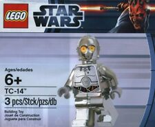 Lego 5000063 STAR WARS Silver Chrome Minifig TC-14 Polybag NEW Sealed FREE Ship