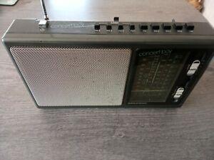 VINTAGE GRUNDIG CONCERT BOY 225a Radio  FM 1-4,SW1-2,MW,LW